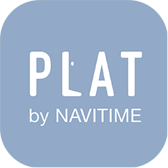 Plat by NAVITIME
