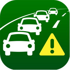 Traffic Congestion Information Map by NAVITIME