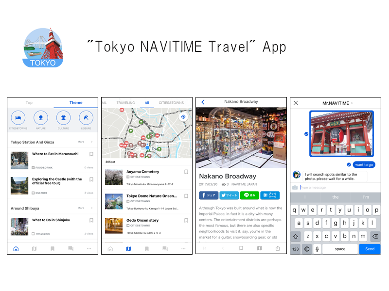 NAVITIME JAPAN Launches