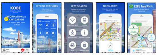 City of Kobe launches multi-lingual travel app