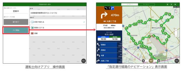 所沢市内循環バス「ところバス」における、「指定運行経路のナビゲーション」および「バスロケーションシステム」のトライアル実証実験|ナビタイムジャパン