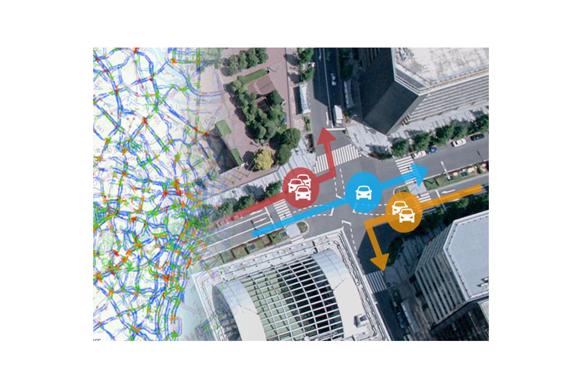 コロナ禍における経路検索数や目的地検索の変化を分析